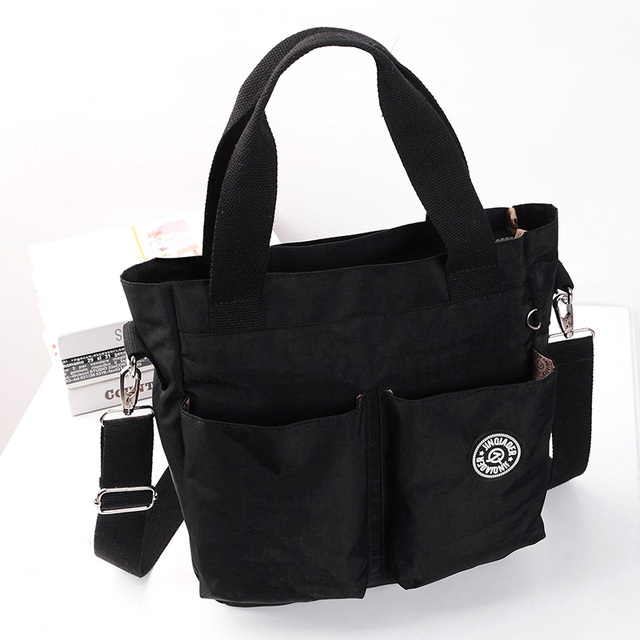 Nuovo arriva moda casual in nylon impermeabile sacchetto del messaggero della spalla #6371