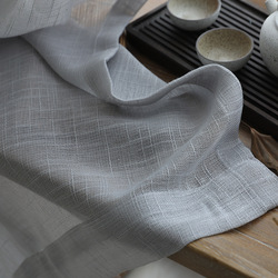 現代ため Soild リネン薄手のカーテン寝室のボイルカーテン窓スクリーニング治療ドレープ