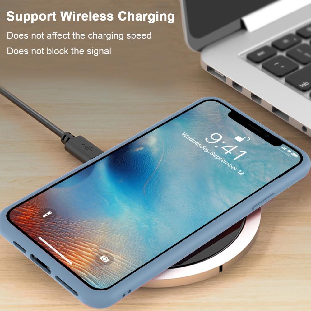 Torubia Silicone Case for iPhone 11/11 Pro/11 Pro Max 97