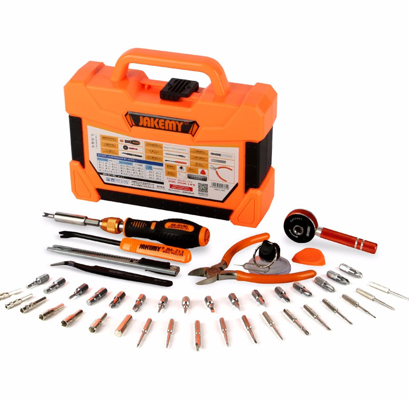47 Pcs Multifunctional Precision Magnetic Screwdriver Set Household Tools Kit Hand Tools Set Box Tweezers Tools