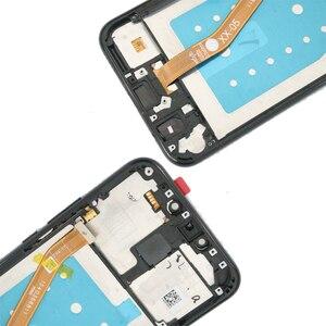 Image 5 - Оригинальный дисплей 6,3 дюйма с рамкой для замены для Huawei Mate 20 Lite, ЖК дисплей с сенсорным экраном и дигитайзером в сборе Mate20 Lite