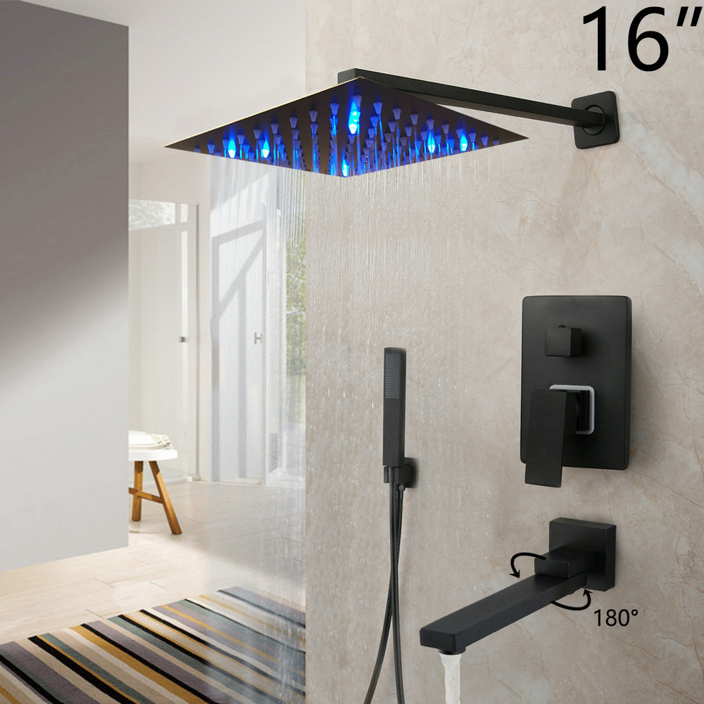 LED 16 Inch ShowerW2