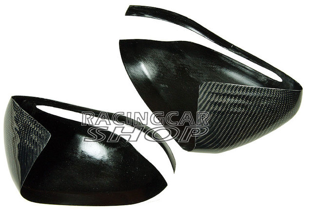 Real Carbon Fiber Mirror Covers 1pair For Mercedes-Benz W205 C-Class 2014UP  M104M 5