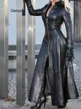 Винтажная куртка из искусственной кожи 2020 зимнее женское пальто