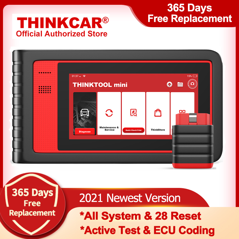THINKCAR Thinktool Mini OBD2 Scanner Professional Full System Car Diagnostic Tools ABS Oil Reset Automotive Scanner Free Update
