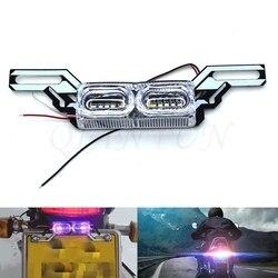 Stroboskopowe motocyklowe tylne światła światło stop led 12V napięcie tylne światło dla YAMAHA XMAX200 XMAX250 XMAX300 XMAX400 TMAX530 500 na