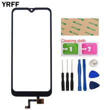 Touch Screen Panel For Doogee X90 Touch Screen Panel Sensor Cell Phone Front Glass Digitizer Panel TouchScreen Tools 3M Glue