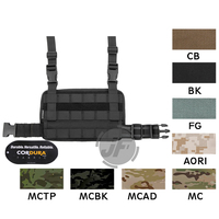 Emerson MOLLE Drop Leg Rig Panel Tactical Modular Quick Release Magazine Pouch Leg Rig Panel For Shooting Hunting Combat