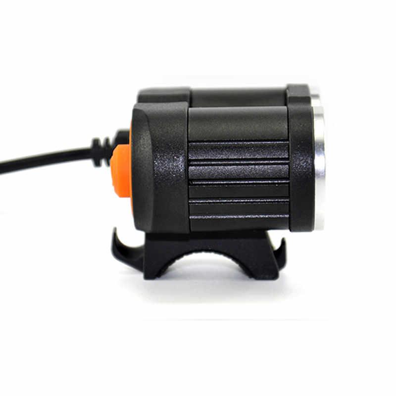 Водонепроницаемый USB Велосипедный свет 8000LM 2 X T6 светодиодный передний велосипедный фонарь двойные лампы для езды на велосипеде без батареи дропшиппинг Z0809
