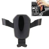 Espelho do carro ajustável superfície gravidade titular do telefone móvel suporte universal mini ventilação de ar montar telefone móvel titular no carro