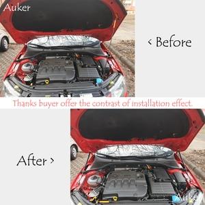 Image 2 - For 2012 2020 Skoda Octavia A7 MK3 Car Styling Refit Bonnet Hood Gas Shock Lift Strut Bars Support Rod Accessories