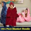 Женская толстовка с капюшоном  большие размеры  толстовка с капюшоном  одеяло  шерпа  пальто  удобный пуловер  Рождество  Sudadera Mujer  ТВ одеяло s