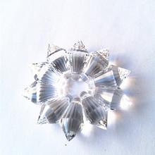 Najwyższa jakość 11*21mm 10 sztuk partia wyczyść Mini małe K9 kryształ sopel u-drops pryzmaty dla żyrandol kryształ Jewlry akcesoria części tanie tanio CN (pochodzenie) 11mm Kryształowy żyrandol GLXCH-0187 clear Crystal chandelier part k9 crystal 10pcs