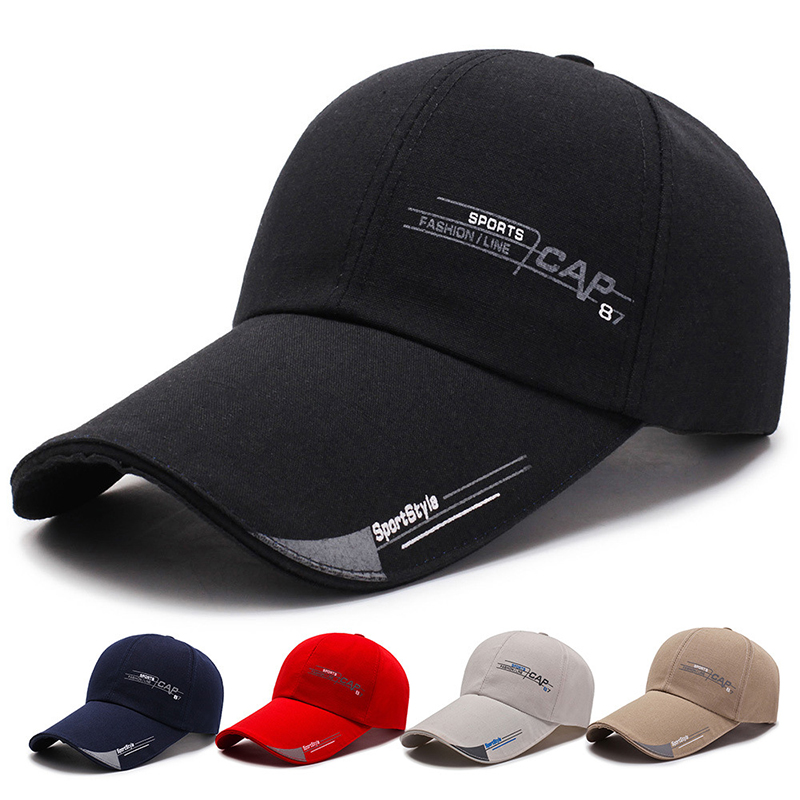 Women Men Baseball Cap Fashion Summer Shade Peaked Cap Solid Color Outdoor Sunscreen Sun Hats Unisex Spring Breathable Sunhat