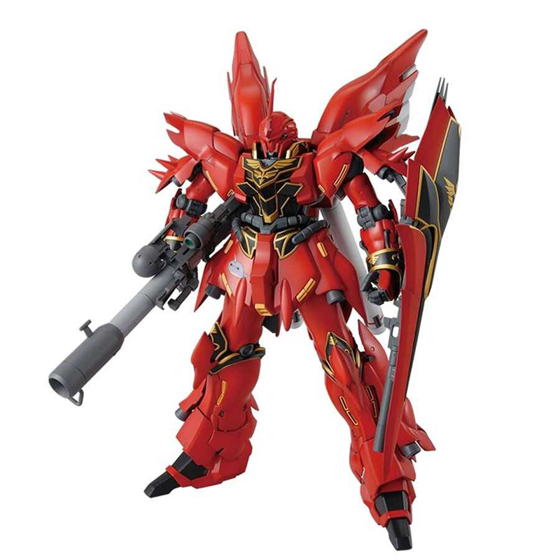 GAOGAO MG 1/144 MSN-06S Sinanju GUNDAM Action Toy Figures Up To Assembly Model Boy Favorite Gift(China)