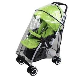 Nowe wózki dla dzieci osłona przeciwdeszczowa dla Yoyo Yoao akcesoria dla wózków dziecięcych Poncho wózek dziecięcy osłona przeciwdeszczowa osłona przeciwwiatrowa w Pokrowce przeciwdeszczowe od Dom i ogród na