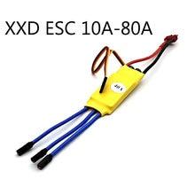 Xxd hw30a 30a hw40a 40a motor sem escova esc para rc avião quadcopter zangão modelo