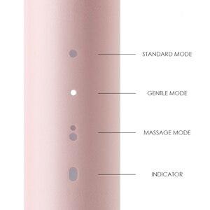 Image 2 - SOOCAS סוניק חשמלי מברשת שיניים PINJING EX3 Waterproof Inductive טעינה נקי קולי חכם מברשת שיניים ילד מתנות