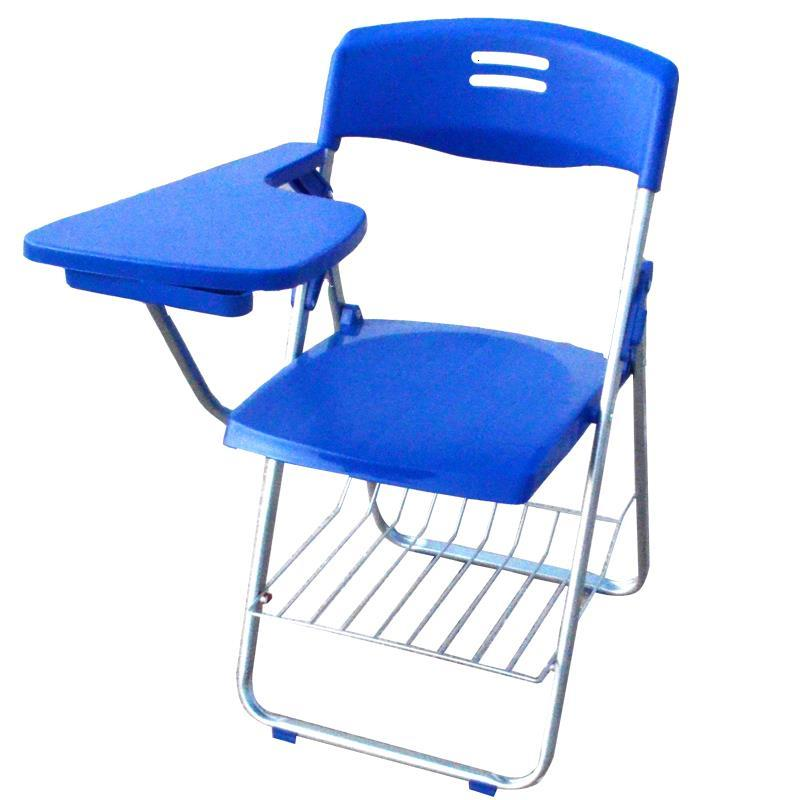 Computer Training Institution Plegable Metal Office Sedie Moderne Pieghevoli Silla De Oficina Folding Chair With Board