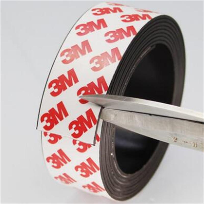30x1,5 мм супер магнит ленты самоклеющиеся Гибкая Магнитная прокладка резиновая магнитная лента шириной 30 мм толщина 1,5 мм