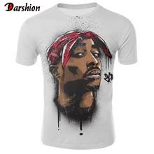 Famous Rapper 3D Tshirts Men Summer Fashion T-shirt Cool Funny T Shirt Printing Mens Hip Hop Tshirt Short Sleeve Men's Tops Tees