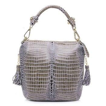 Fashion Crossbody Shoulder Bag Women Pu Leather  Snakeskin Pattern Ladies Designer Handbags High Quality