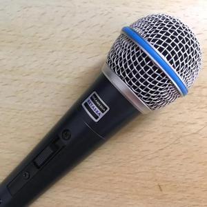 Image 2 - BT58A Interruttore Professionale Vintage Palmare Vocal Microfono Dinamico Per beta 58a beta58a Karaoke Musica Studo Della Fase Del Partito Mic