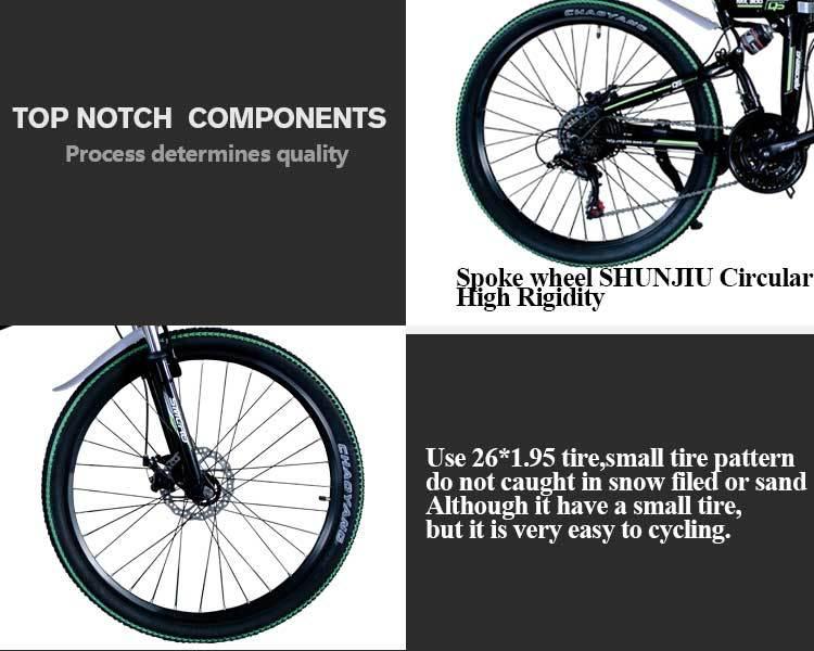 MX300 2019 New Design 350W/500W/750W/1000W 48V 10AH/13AH electric bicycle 26 inch folding electric bike with high quality 8