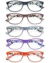 Modfans óculos de leitura feminino redondo grandes dimensões quadro leitores com dobradiça primavera para senhoras presbiopia óculos diopter + 1.0 + 4.0