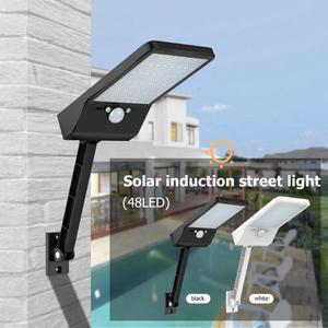 Image 2 - 48 LED Điều Khiển từ xa Đèn Năng Lượng Mặt Trời ĐÈN LED Ngoài Trời Chống Nước CẢM BIẾN Chuyển Động Cảm Biến Năng Lượng Mặt Trời Gắn Tường 1/3 Chế Độ Vườn Phố Năng Lượng Mặt Trời đèn