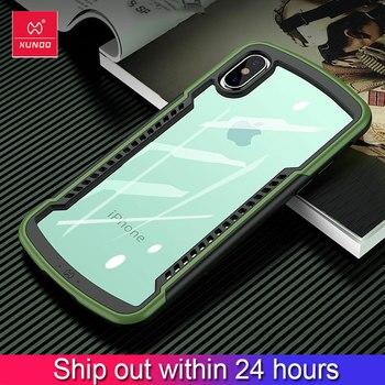 Xundd etui na iPhone X XS MAX XR odporny na wstrząsy futerał na telefon zderzak telefon pokrywa gra Coque etui na iphone 11 pro Max/ 2019