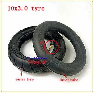 Image 2 - 10x3.0 ra Lốp ống bên trong Cho KUGOO M4 PRO Xe Điện bánh xe 10 inch Gấp xe điện bánh xe lốp xe 10*3.0 lốp xe