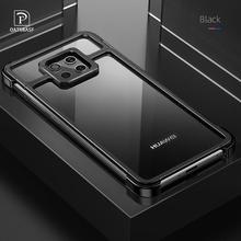 Nieuwe Metalen Frame Telefoon Geval Voor Huawei Mate 20 30 Mate 20 30 Pro Magnetische Aantrekkingskracht Kale Machine Voelen Drop  proof Telefoon Cover