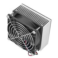 Cooling Device 70W DC12V Semiconductor Refrigeration Cooler DIY Mini Fridge Cooling Device for Pet House Repair tool
