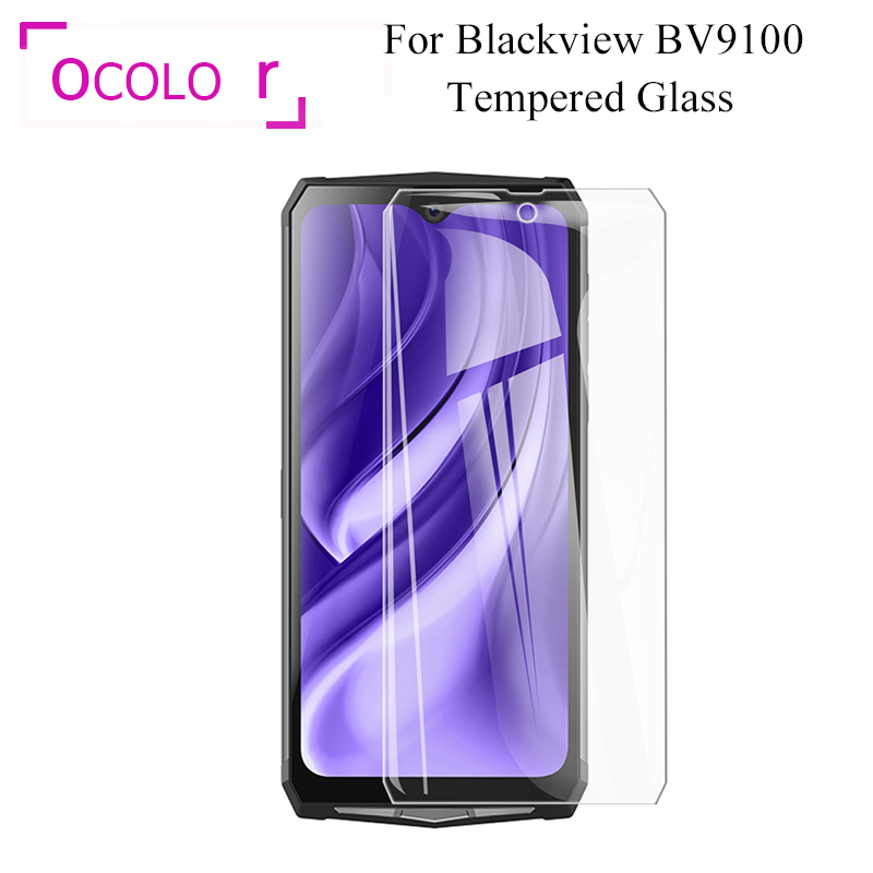 ocolor Tempered Glass Film For Blackview BV9100 BV9500 Plus BV9600 BV9700 BV9800 Pro BV9000 BV6100 BV5800 BV6800 BV5000 BV5500(China)