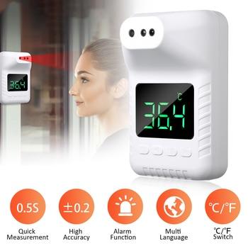 Termómetro infrarrojo portátil, sin contacto Festnight ° C / ° F 0.5S,...