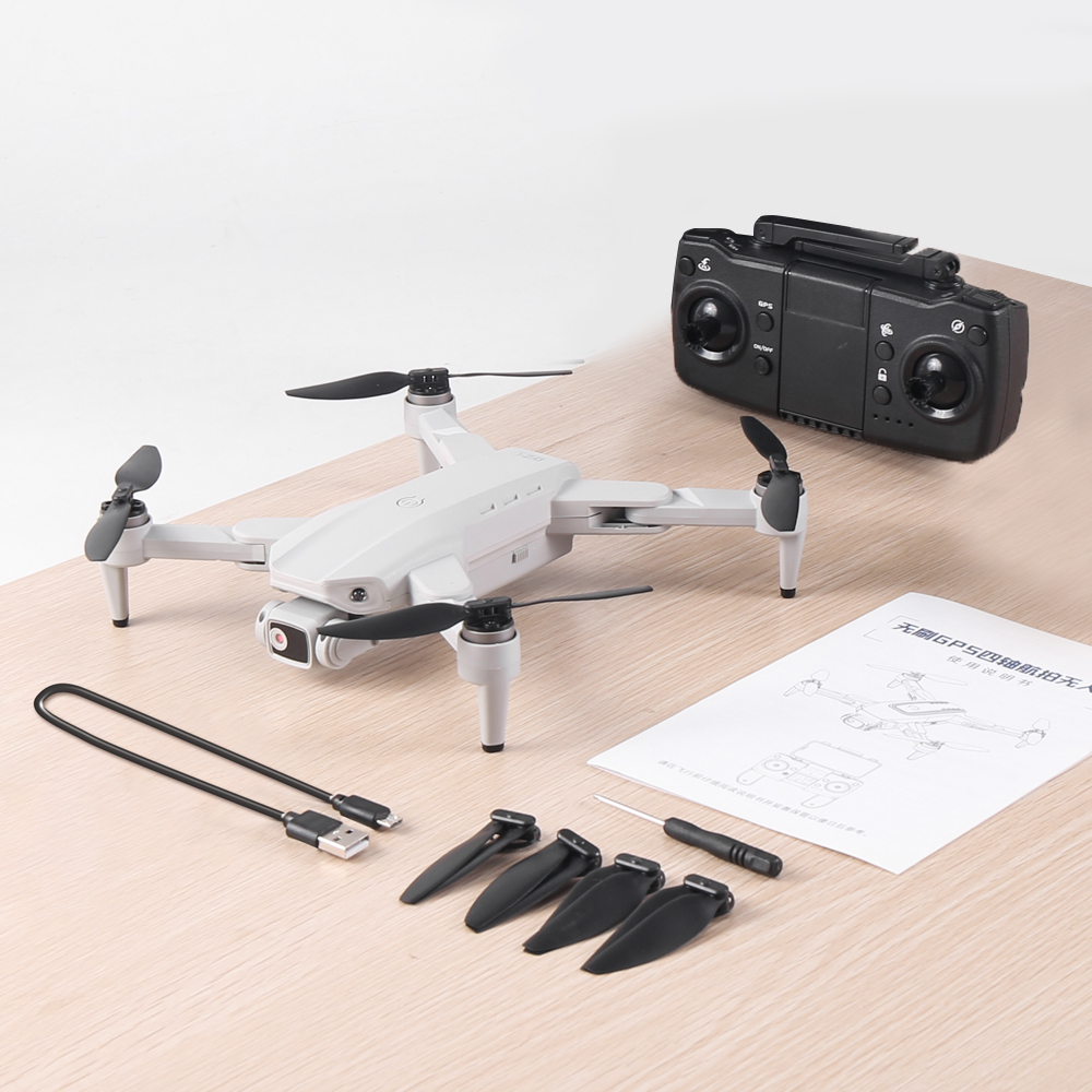 XKJ L900PRO GPS Drone 4K Dual HD Camera Professional Aerial Photography Brushless Motor Foldable Quadcopter RC Distance1200M 4