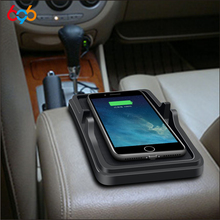 696 C6 QI Car Anti-skid Wireless Charger Strong Viscosity to Ensure Driving Safety for Apple X/8/Plus, etc.for Samsung S7/S8+,
