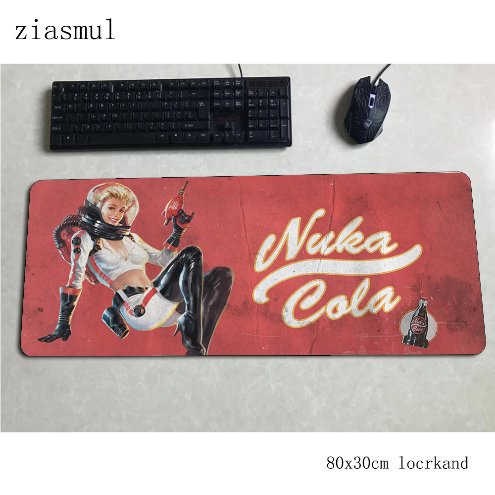 Fallout Mouse Pad 80x30cm Mats Present Computer Mouse Mat Gaming Accessories Customized Mousepad Keyboard Games Pc Gamer