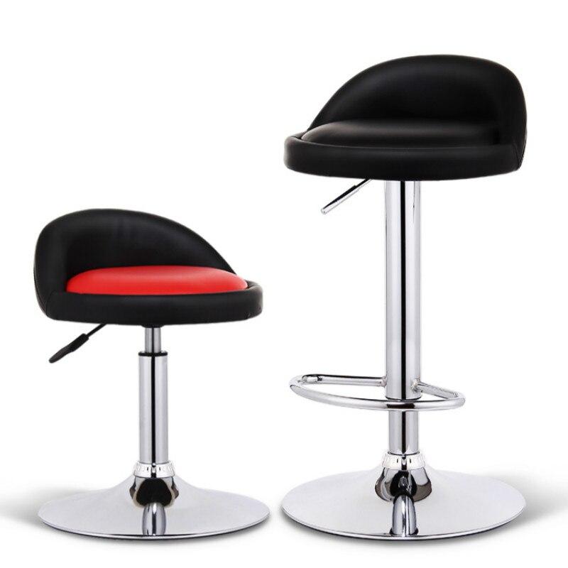 Chaise de Bar tabouret haut moderne minimaliste ascenseur Bar chaise tissu Bar Table et chaises tissu en polyuréthane maison chaise tabouret haut siège