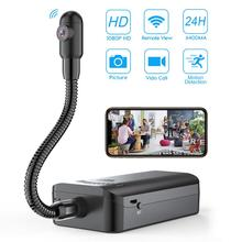 1080P HD DIY Mini WiFi Camera S Snake Shape Camera Endoscope Wireless IP Camcorder Borescope View Video Recorder Monitor Motion