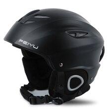 Ski Helmet ABS Shell +Eps Inner Layer Cold Warm Anti-Fall Wear Universal For Women Men Professional Ski Helmet Protective Helmet цена в Москве и Питере