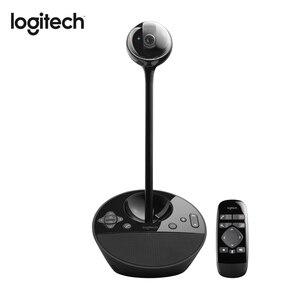 Веб-камера Logitech BCC950, Офисная веб-камера для деловых встреч с HD-поддержкой 1080p/30fps, Full HD 1080P, веб-камера для настольного видео, 1920x1080