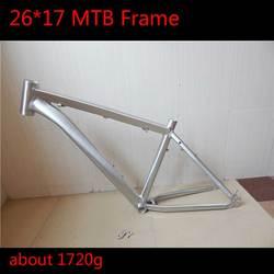 2019 wysokiej jakości 26 17 aluminiowa rama mtb ultralekki Sliver kolorowy drut rysunek farba olejna rower górski rama 26er