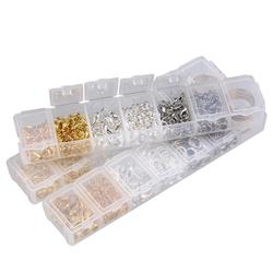 1box 5 6 7mm Iron Closed Jump Rings Spite Rings/Lobster Clasps/Finger Rings for Jewelry Findings Accessories Kit Box Wholesale
