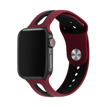 Sport strap for apple watch band 42mm 38mm 44mm 40mm silicone bracelet watchband for iwatch 5/4/3/2/1 rubber belt Accessories sport watch strap for apple watch 3 2 1 4 iwatch band 42mm 38mm 44mm 40mm natural silicone bracelet wrist belt rubber watchband