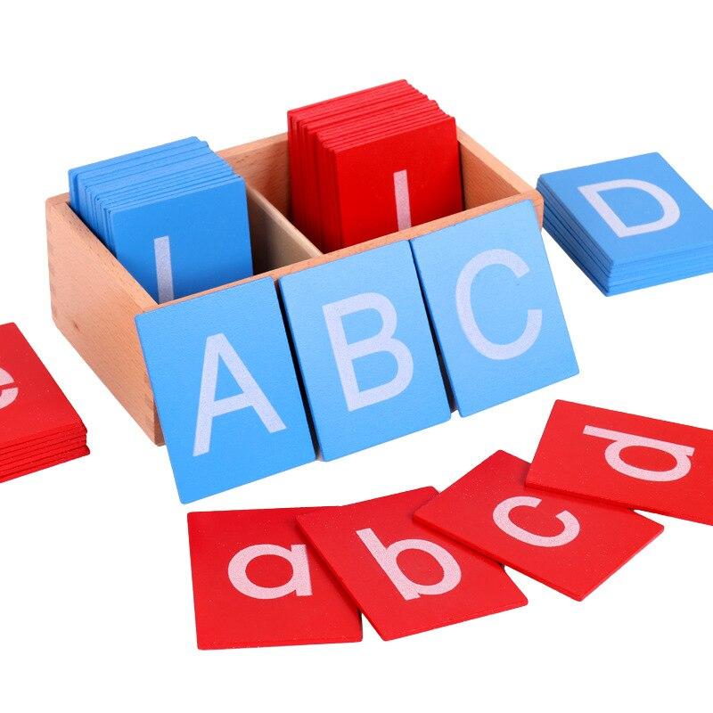 Sandpaper Letter Board Montessori Toy Montessori Educational Wooden Toys Sensory Toys For Children Baby Gifts For Children