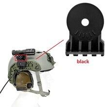 Kit de lampe de poche tactique plate forme montée sur casque tactique pour la chasse en plein air casque tactique ARC casque montage rail adaptateur