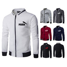 Men's zipper jacket, casual polar fleece hooded jacket, very fashionable, sports jacket, 2021 autumn and winter series