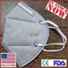 Face-Mask--ตัวกรอง-ผู้ใหญ่เรือ USA Non-ทิ้ง 5 ชั้น Nonwoven ยืดหยุ่น Earloop care kn-95maskes(China)